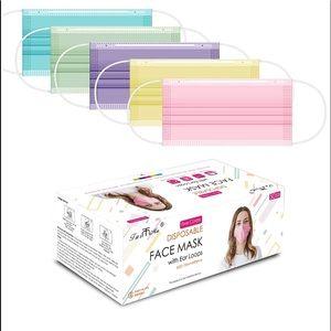 NWT: 50 PCS Face Masks
